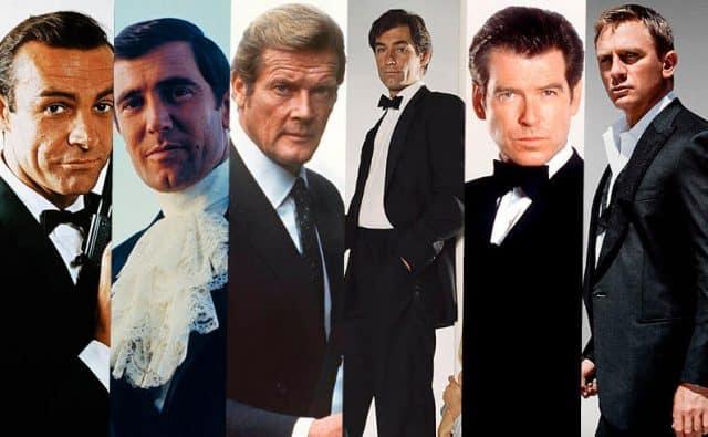 Alle Bond Darsteller