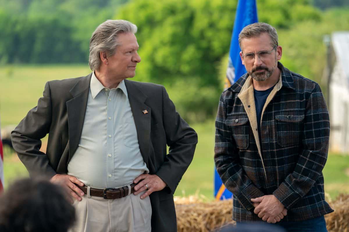 Chris Cooper und Steve Carell als Politiker mit Verständnis für die menschen auf dem Land.