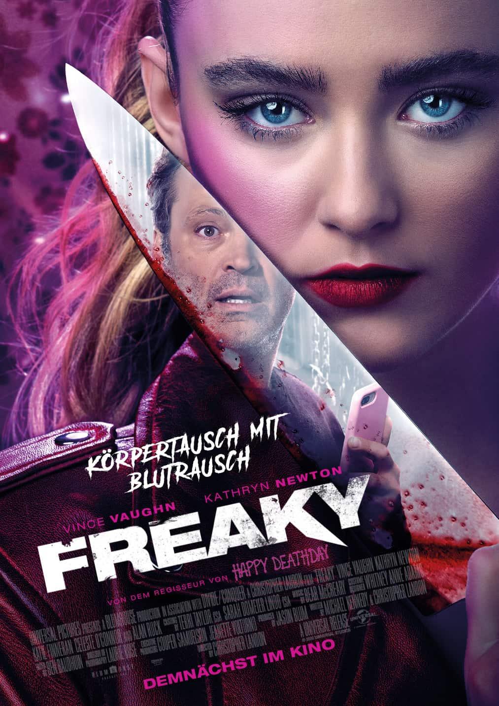 Vince Vaughn in einer neuen Horror- Komödie Freaky