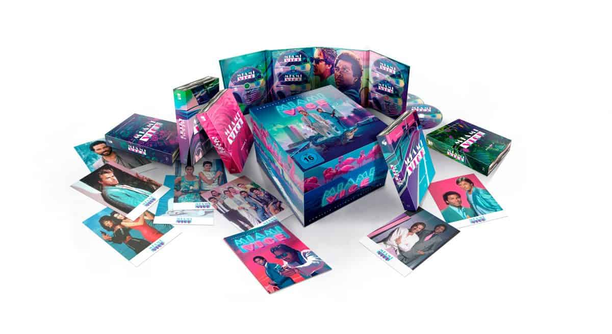 Miami Vice Serie als 35-teiliges Blu ray Set non Koch Films