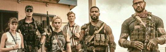 Matthias Schweighöfer neben Dave Bautista in Snyders Zombie Heist Film Army of the Dead