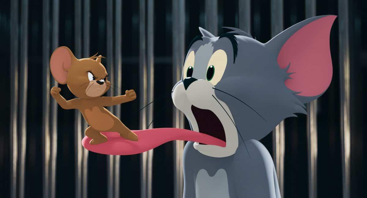 Chaos im Hotel als Tom geholt wird um Jerry von einer Hochzeitvorbereitung fern zu halten.