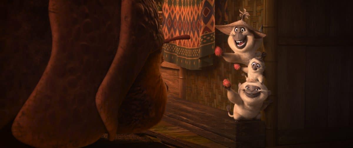 Die drei Ongis, teils Affe, teils Wels, sind einfallsreiche Gauner aus dem Handelshafen von Talon.
