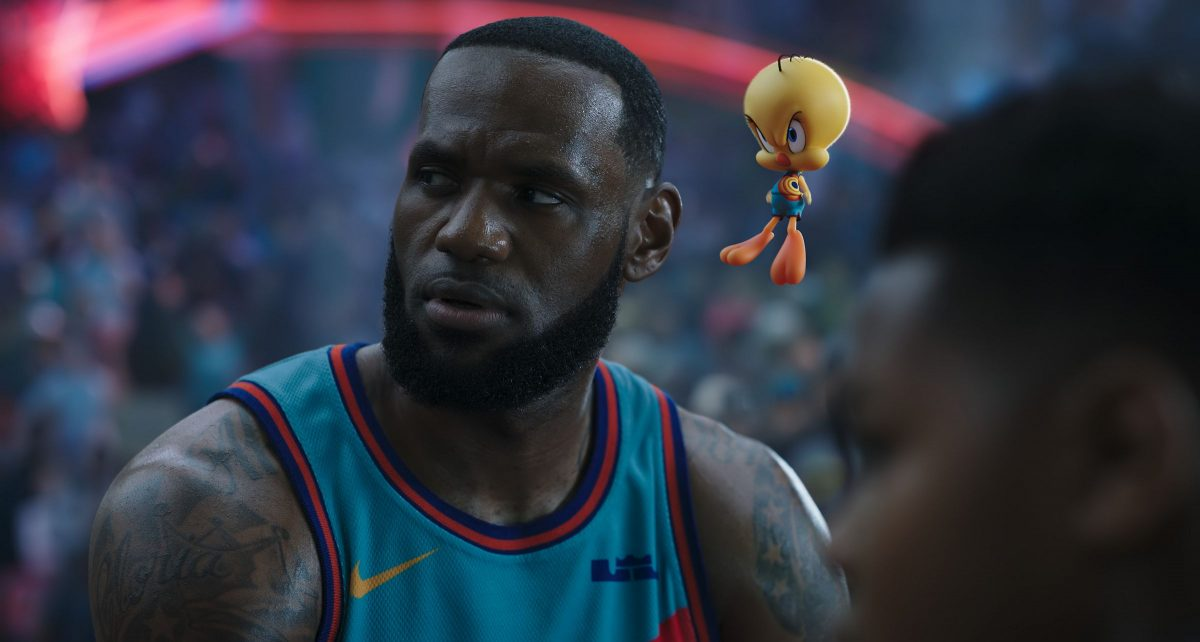 Le Bron James in Space Jam 2