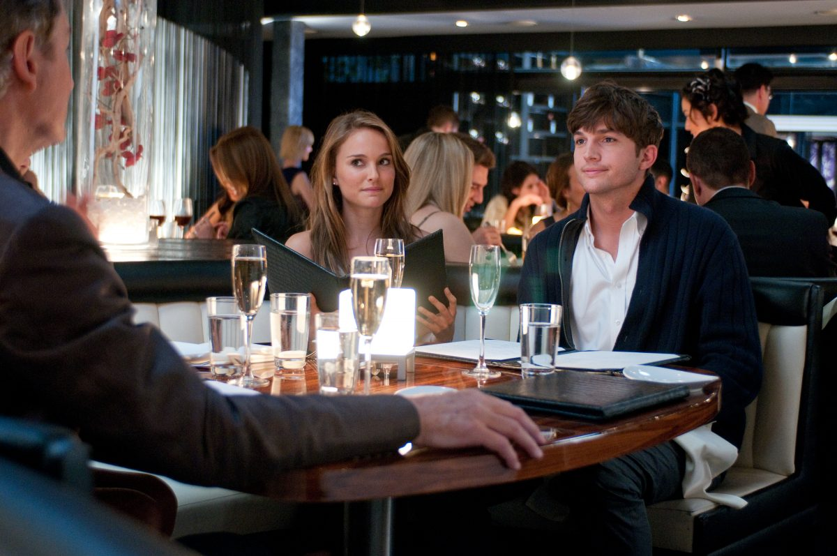 "Oskar-Gewinnerin® Natalie Portman (""Black Swan"") und Ashton Kutcher (""Love Vegas"")"