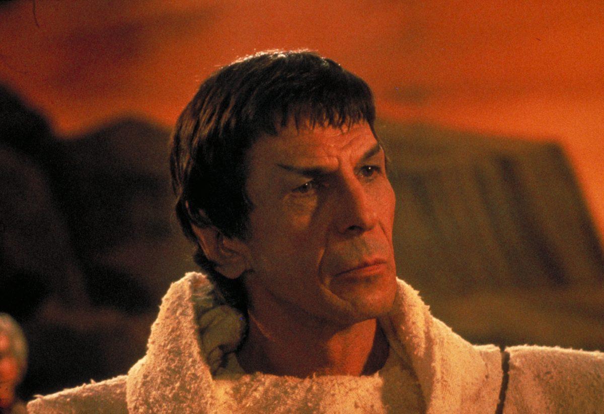 Leonard Nimoy in Der Zorn des Khan